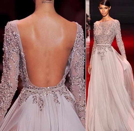 Elie saab oh dear god the back!