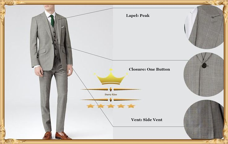 Cheap Mens Suits With Pants Wedding Suit For Men Tuxedos Designs Custom Peak Lapel One Button Groom Jacket+Pants+TieWY015 from Darrykiss,$87.85 | DHgate.com