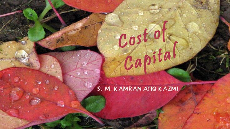 Cost of capital by KamranAtiq via slideshare