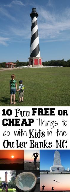 10 Fun FREE or CHEAP Things to do with Kids in the Outer Banks, NC #OBX #Trekarooing
