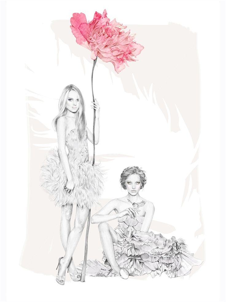 Kelly Smith is a fashion illustrator, specialising in portraiture and beauty.