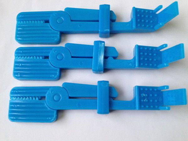 3 Pcs Dental X Ray Film Holder Snap Clips Dentist Lab Equipment Bule Color  #Shaind2014
