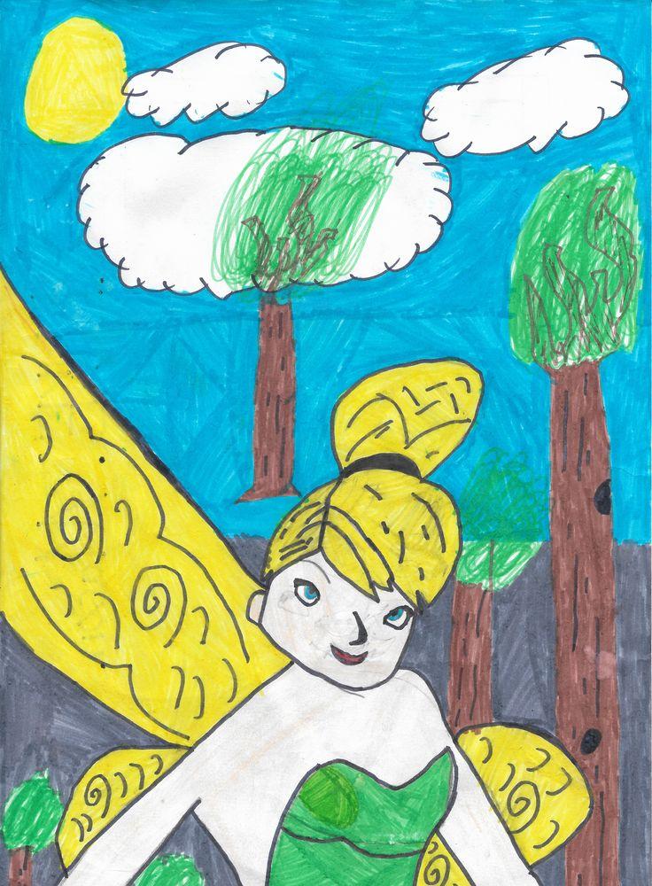 Entry 24: 'Fairy' by Luke M, grade 5   #fairy #art