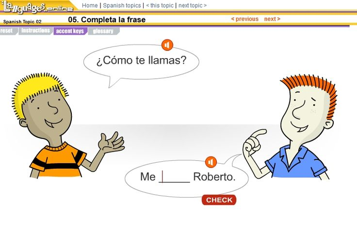 Comprensión oral: Completa la frase (interrogativo y verbo llamarse)