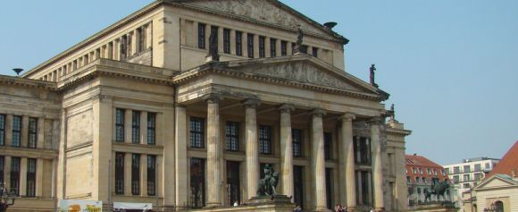 The new Königliches Schauspielhaus, Berlin was inaugurated on June 18, 1821 with the acclaimed premiere of Carl Maria von Weber's opera Der Freischütz.