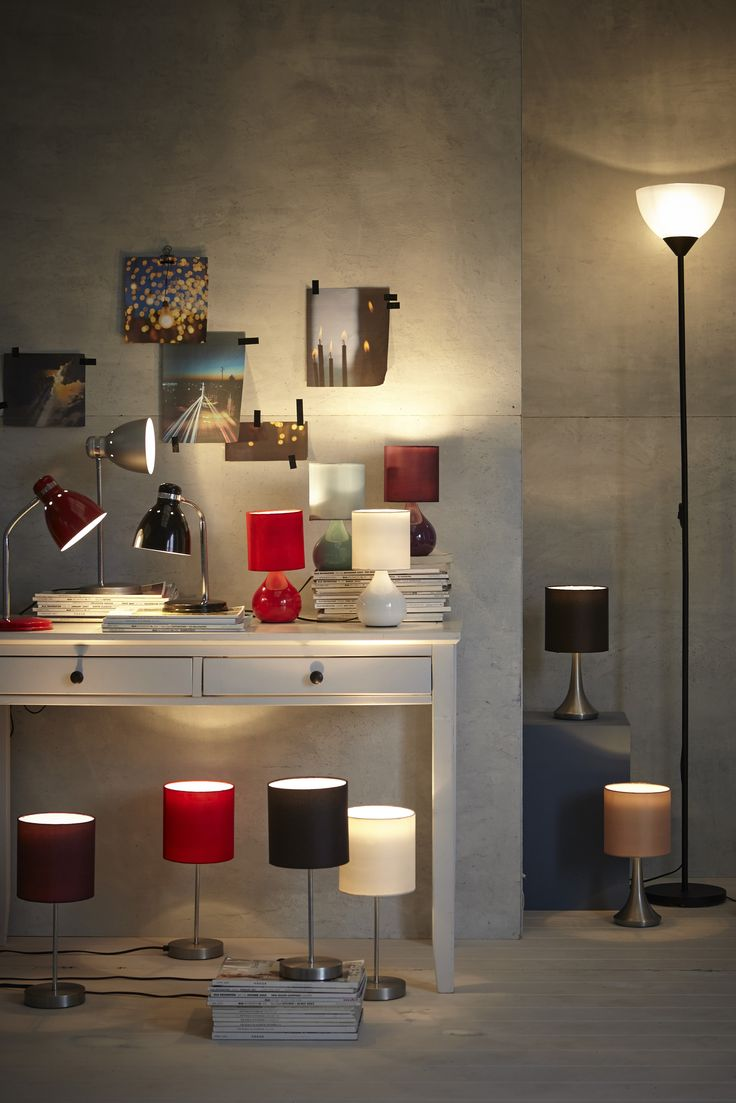 37 best accents and accessories images on pinterest bowls cat for a perfectly lit room use a mix of floor and tabletop lighting and choose amipublicfo Image collections