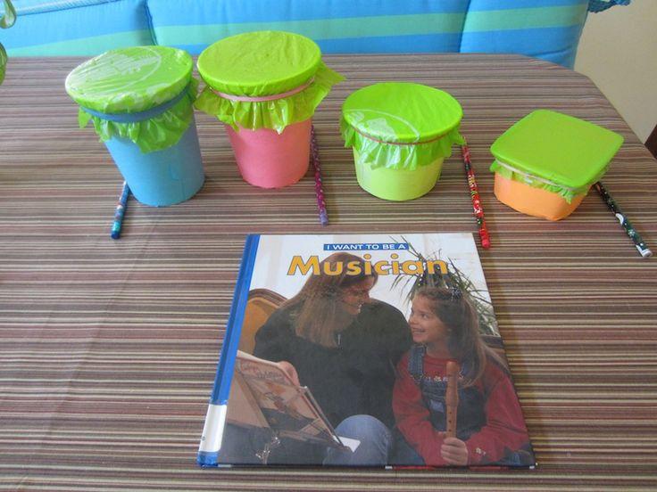 Make A Simple Drum For Preschool Fun