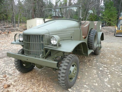 1941 dodge wc 6 command car 1 2 half ton ww2 army military power