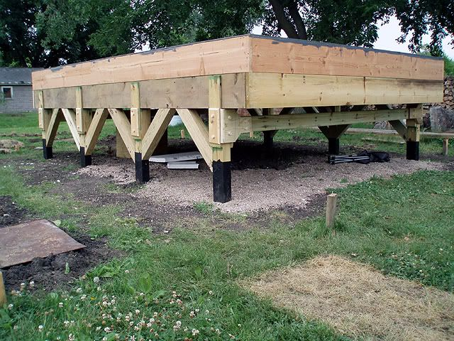 12 x 16 house pier and beam support for foundation for How to build a post and pier foundation