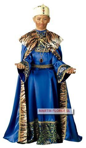 Disfraz rey mago infantil para cabalgata de reyes en www.martinfloressl.es #tiendaonline golosinas y disfraces en #sevilla