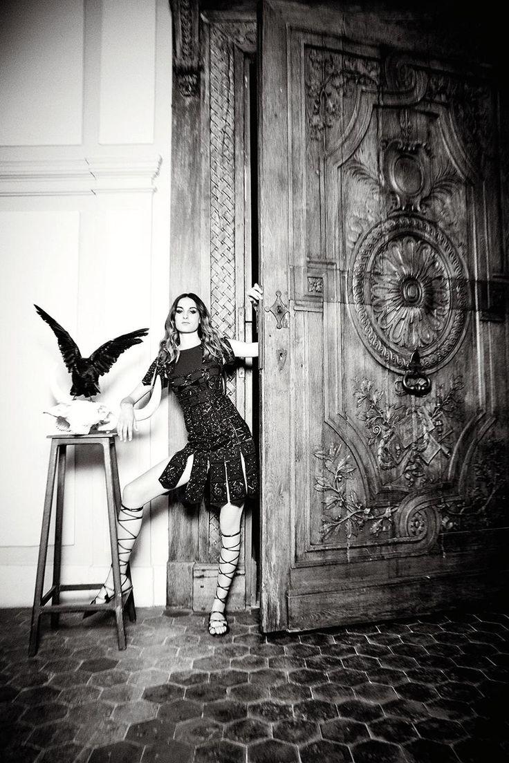 Nine D'Urso by Ellen von Unwerth for Madame Figaro France August 2015 - Valentino Fall 2015 Haute Couture