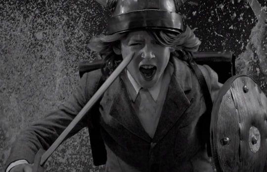 "From the music video ""Run boy Run"" by Yoann Lemoine (aka Woodkid), Image Source: highsnobiety.com"