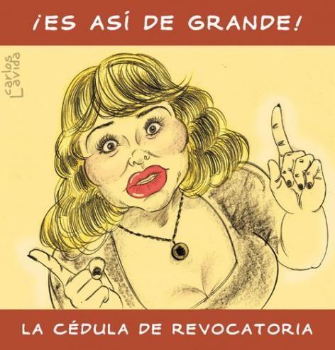 Susi Diaz. #Revocatoria