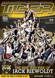 Fighting Tiger magazine for the Richmond Football Club