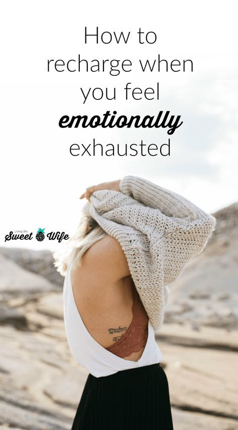 Have you ever been to the point of emotional exhaustion where you literally stop feeling feelings for a while? Whether voluntary or not, the numbness of emotional exhaustion is not fun- or healthy- for long periods of time. Here are some tips I'€™ve compiled to help you get a head start back to an emotionally healthy, energized, and renewed state.
