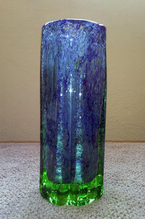 Benny Motzfeldt-Randsfjord 1960s glass vase