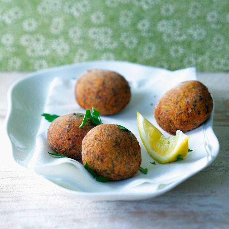 Découvrez la recette boulettes de pois chiches à l'indienne sur cuisineactuelle.fr.