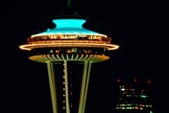 Oh how I miss home! And dinner at SkyCity at the Space Needle :)