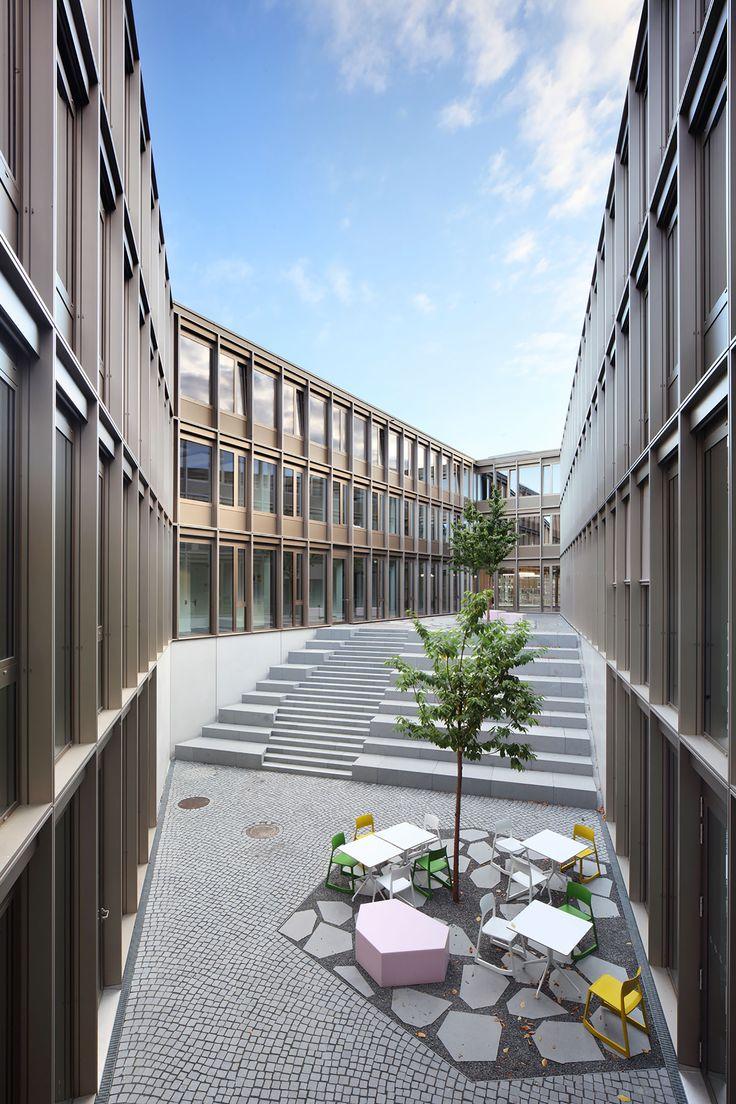 Science Park Kassel, Uni Kassel, Universitätsplatz, Kassel Germany by Birk Heilmeyer & Frenzel Architekten