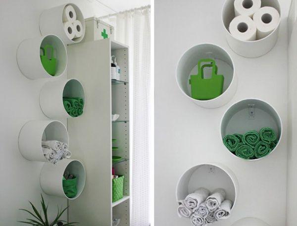 Система для хранения полотенец в ванной