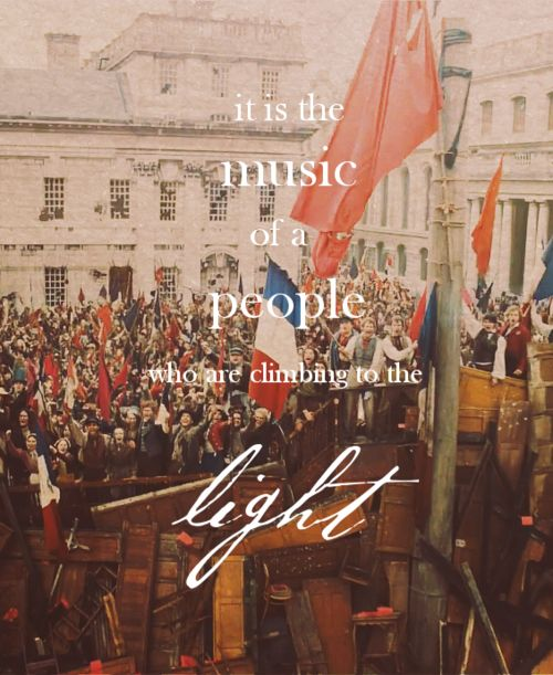 Les Miserables lyrics.
