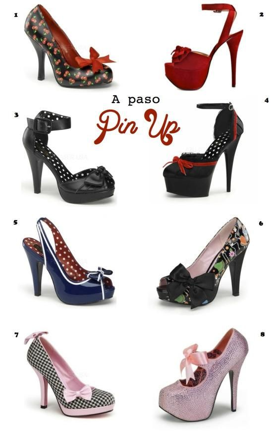 pin up shoes