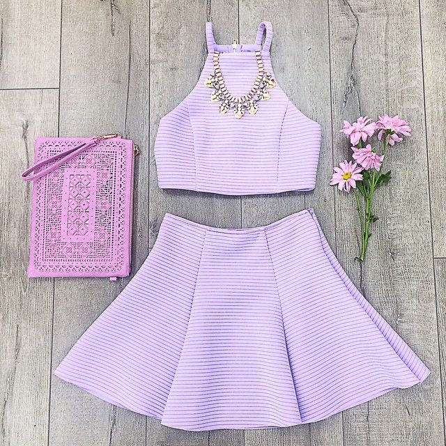 Pastel lavender outfit ♡ Pinterest : @kayneedy