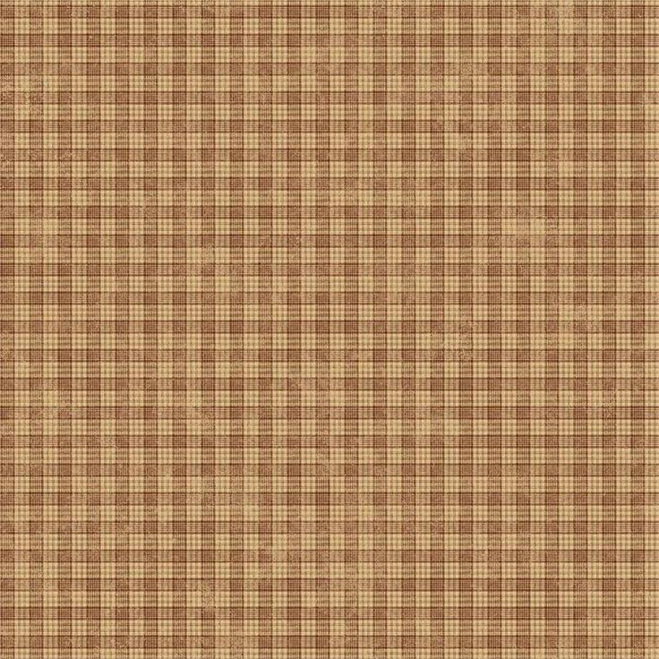 Brown Plaid Wallpaper: Light Brown Cottage Plaid Wallpaper