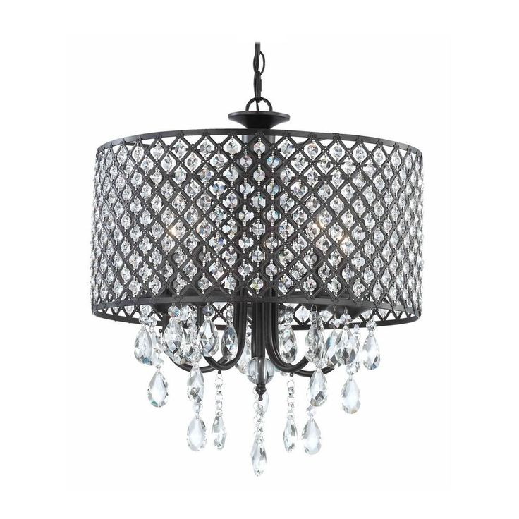 modern chandelier with hanging crystal and round bronze drum shades ideas for dining room or bedroom lighting ideas modern crystal chandelier furniture
