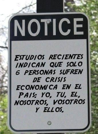 ¿A quién le afecta la Crisis Económica? #Crisis #Dinero #Economía