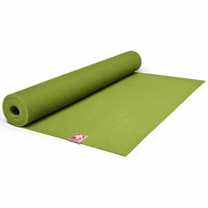 Choose Wisely:  Look for eco-friendly companies when shopping for workout clothes and gear. Gaiam, Patagonia, and GoLite are just a few of the companies that use organic fibers in their clothing and accessories. Green your yoga session by investing in a mat made from sustainable ingredients, like Mandukas eKO Mat.