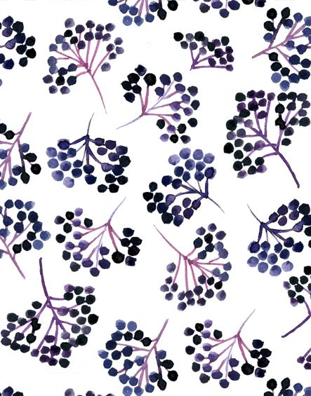 berries, nature, food, design, print, repeat pattern, colour