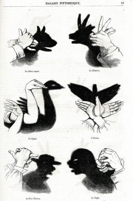 Hand Shadows II by seriykotik1970, via Flickr