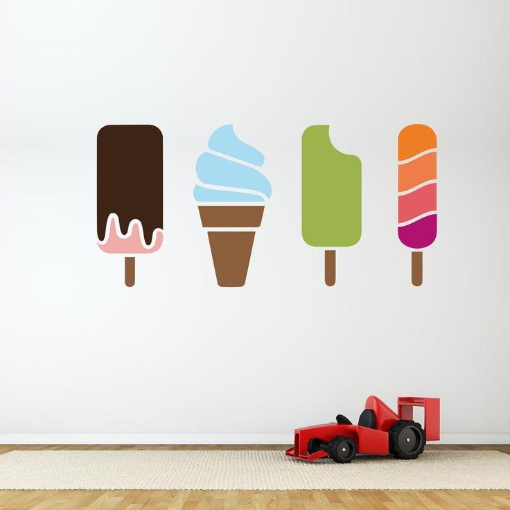 Adesivi da parete Gelati Estate - Summer Ice Creams Wall Sticker Adesivo da Muro - Vinyl Wallsticker Decal https://www.adesiviamo.it/prodotto/1225/Adesivi-da-parete/Adesivi-da-parete/Summer-Ice-Creams-Wall-Sticker-Adesivo-da-Muro.html
