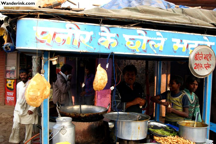 What you see is what you eat... A dhaba - or roadside eatery - from Deeg, Rajasthan.