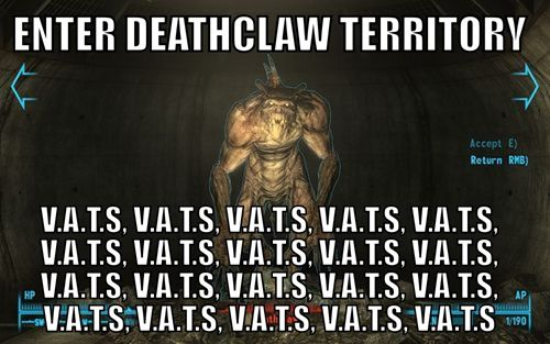 fallout meme | ... Games - deathclaw - Video Game Memes - video game memes - Cheezburger