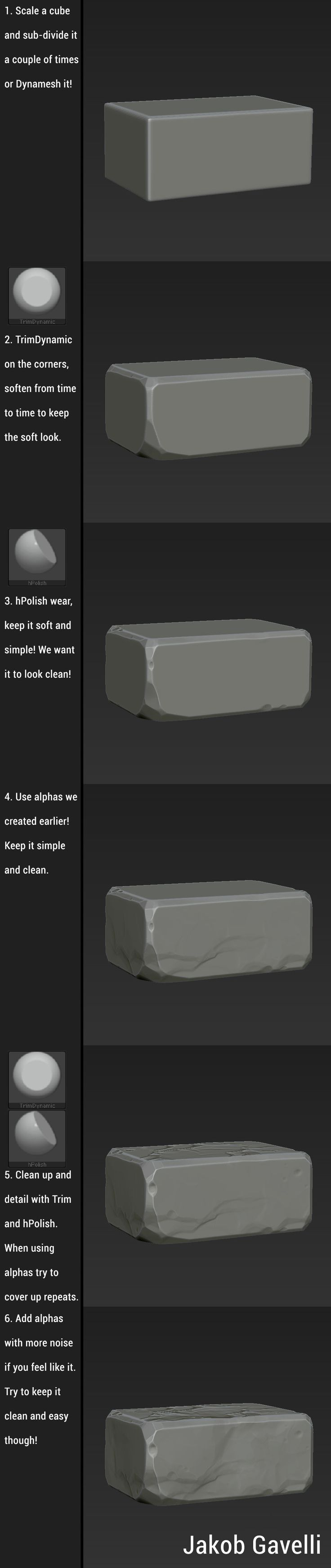 ArtStation - Brick and Alpha Tutorial 2.0, Jakob Gavelli