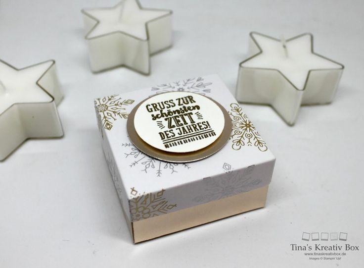 Schnelle Teelicht Verpackung - mit Produkten von Stampin' Up!
