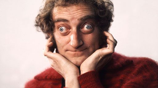 Marty Feldman-Comedian,Actor-(July 8,1934-Dec. 2,1982) COD: Heart Attack