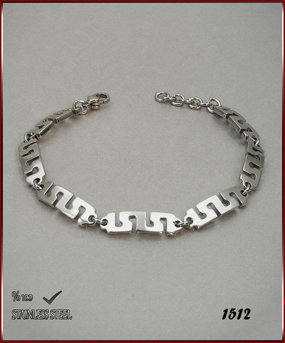 Axcesi 1512  Stainless steel chain bracelet thickness 6 by Axcesi