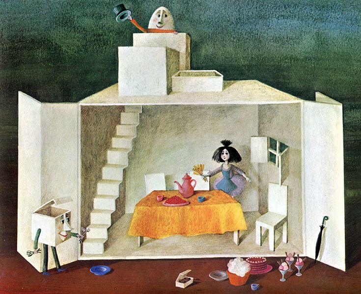 """Fleur-de-Lupin"" - Binette Schroeder, 1970"