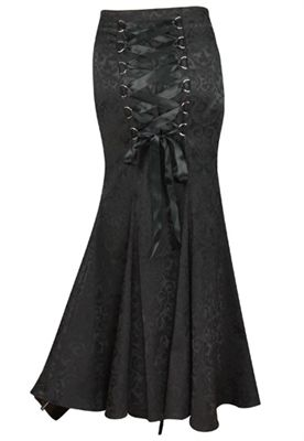 Gothic Corset Lace Skirt...ON SALE