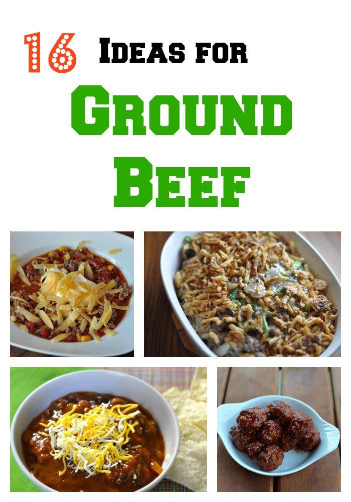16 recipes for ground beef great ideas for dinner