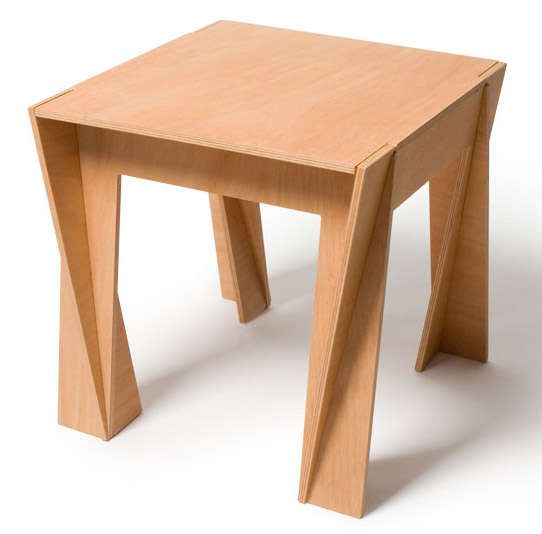 Plywood Puzzle Furnishings : Coordinate Collection by Praktrik