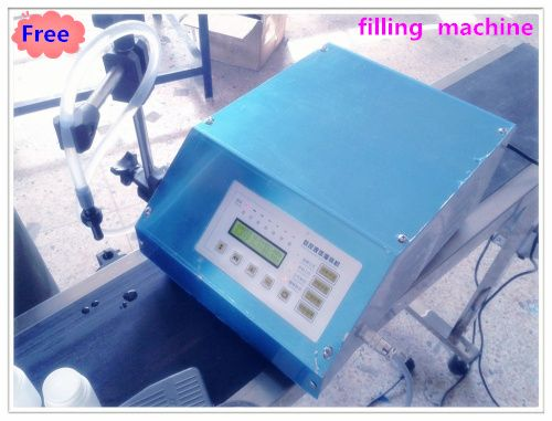 100% Digital Control Liquid Filling Machine Controled By Micro-computer Anti-dripping3-3000ml very precisely