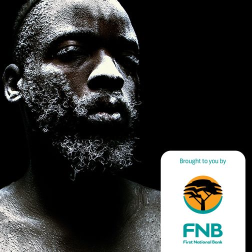 Mohau Modisakeng casts himself as the subject matter in his dramatic portrait, Molora Ashes 1 (2015).  Discover the artists at the FNB JoburgArtFair from 11-13 September at the Sandton Convention Centre.  Visit the #FNBJAF page for more info & ticket purchases https://blog.fnb.co.za/?p=15659  #art #FNBJAF #Joburg