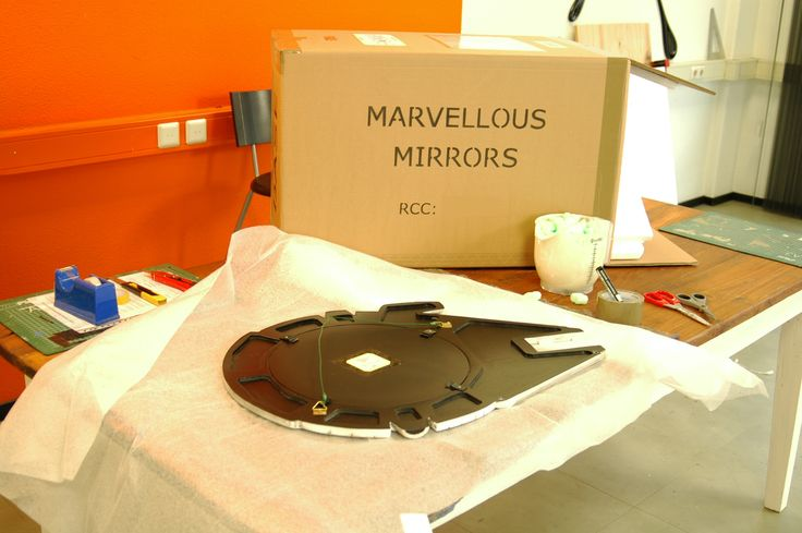 We are about to package and send a mirror to the USA. Here is how we do it @ MarvellousMirrors.com