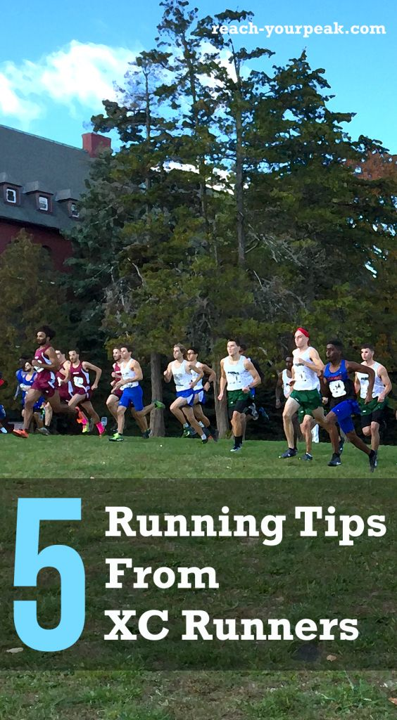 If you're a runner, check out these 5 tips from college cross country runners!