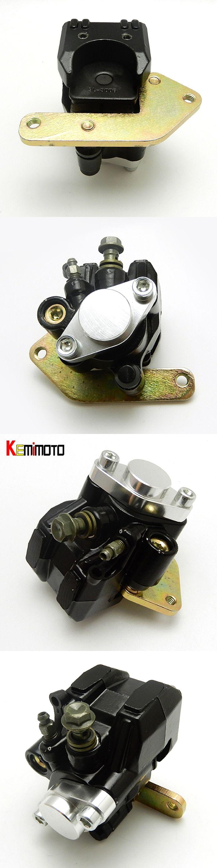 KEMiMOTO ATV Rear Hydraulic Brake Caliper Assembly for YAMAHA BANSHEE 350 YFZ350 YFZ350SE YFZ350SP YFZ350LE 1987-2006