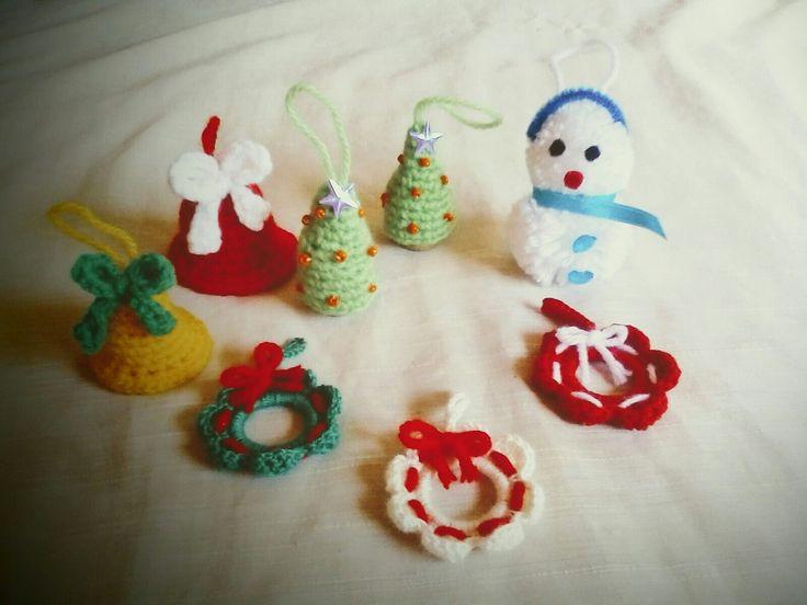 Adornitos artesanales navideños